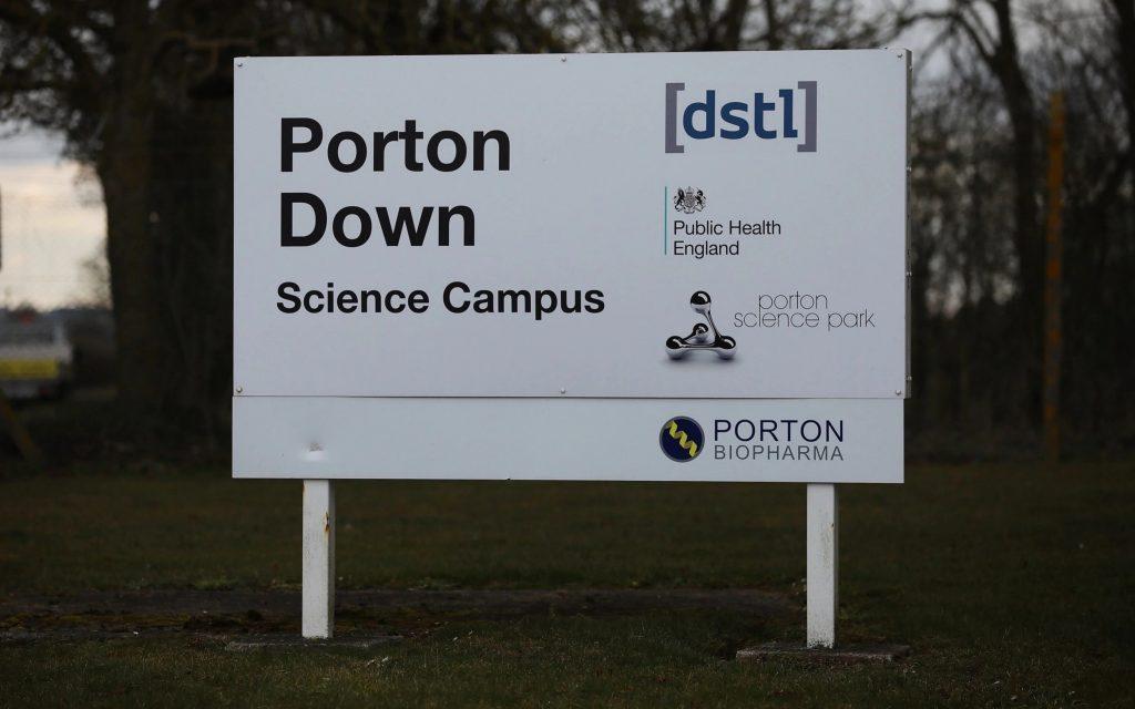 UK Porton Down study